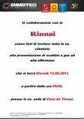 13 giugno 2013 – 2^ Giornata al banco RINNAI