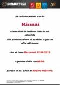 12 giugno 2013 – 1^ Giornata al banco RINNAI